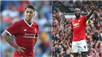 Đại chiến M.U – Liverpool: Firmino hay hơn Lukaku là có lý