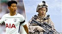 'Thần tài' Son Heung Min khiến Tottenham sợ vì có thể phải đi... lính