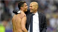 Chiếc ghế của Zidane phụ thuộc vào Ronaldo