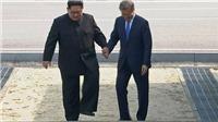 Những khoảnh khắc lịch sử của lãnh đạo hai miền Triều Tiên trên thảm đỏ Hội nghị liên Triều