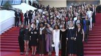 82 ngôi sao 'biểu tình' tại Cannes: Do chỉ mới có 1 nhà làm phim nữ giành Cành cọ Vàng?