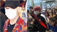 BTS có nên bớt 'kín đáo' ở sân bay, cư dân mạng tranh cãi