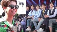 BTS chia sẻ hình ảnh hậu trường 'cực chất' khi tới tham gia lễ trao giải Âm nhạc Billboard 2018