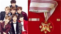 BTS tiếp tục làm nên lịch sử khi được đề cử Huân chương Công trạng trong lĩnh vực văn hóa 2018