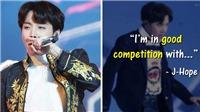 J-Hope (BTS) tiết lộ ai là đối thủ cạnh tranh mạnh nhất trong làng K-pop