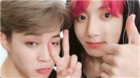 Jimin và Jungkook (BTS) tạo 'cuộc chiến' hát nhép ca khúc mới của V