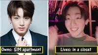 BTS cực giàu có nhưng vẫn 'giả nghèo giả khổ'