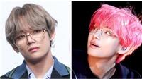 V (BTS) trông thật điệu đà, sang chảnh với cả BST cặp kính trắng