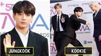 Jungkook nhận giải Âm nhạc The Fact vẫn cực 'cool' khiến fan 'tan chảy'