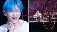 V (BTS) khiến vệ sĩ 'đau tim' vì hành động này tại chương trình hòa nhạc ở Bangkok