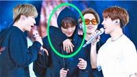 BTS kết thúc chặng diễn ở Mỹ, Jungkook khóc, cách dỗ của Jimin khiến fan ấm lòng