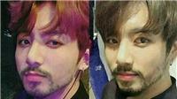 Thành viên BTS và các sao 'búp bê' K-pop trông như thế nào khi để râu?