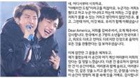 Fan thổn thức khi nghe RM chia sẻ tâm tư tại màn diễn ở New Jersey