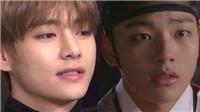 VIDEO: V (BTS) 'đốn tim' khán giả khi diễn lại cảnh lãng mạn trong phim 'Mặt Trăng ôm mặt Trời'