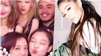 Ariana Grande 'khẩn nài' muốn có ảnh bên các cô gái Blackpink