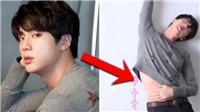 Jin BTS lại khiến tim fan 'loạn nhịp' trong chiếc áo 'crop top' này