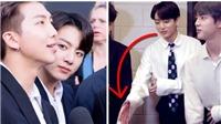 Không chỉ Jungkook BTS, RM cũng nhiều lần bị từ chối bắt tay phũ phàng