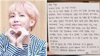 RM BTS viết lá thư cảm động gửi fan nhân sinh nhật lần thứ 25