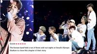 Báo chí phương Tây hết lời ca ngợi tour diễn 'Love Yourself' của BTS