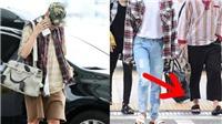 BTS 'chất lừ' khi phối hàng hiệu với những đôi dép lê đủ màu sắc