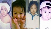 Bất ngờ trước loạt ảnh thời thơ ấu của các thần tượng K-pop