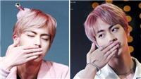 Jin BTS gửi những nụ hôn gió 'tình' như thế này làm sao tim fan không 'tan chảy'