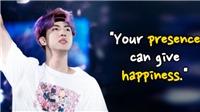 15+ câu nói thông thái của Jin BTS giúp ARMY vượt qua khó khăn