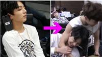 Clip: Các chàng trai BTS thích 'chơi khăm' nhau, kể cả lúc ngủ