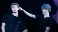 'Chết cười' với hình ảnh RM và Jimin BTS vờn nhau như 'chó với mèo'