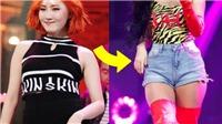 7 nữ thần tượng K-pop tạo 'trend' với quần soóc và váy bó và eo con kiến