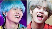 V BTS có thói quen không thể kiểm soát mỗi khi cười
