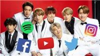 BTS, Twice, Blackpink... nhóm nhạc thần tượng nào có lượng fan 'khủng' nhất trên MXH?