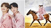 Chết cười với những hình ảnh fan 'chế' từ bộ ảnh FESTA của BTS