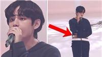 Fan 'mắt cú vọ' phát hiện ra V không ổn khi BTS trình diễn ở Nhật Bản