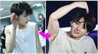 Jungkook đã trở thành 'maknae' cơ bắp đến các 'hyung' BTS cũng sợ