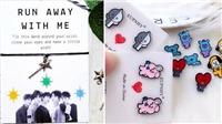 13 món đồ 'handmade' độc đáo của sao K-pop fan có thể mua: Jungkook, TXT, Twice...