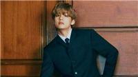 V BTS lại gây 'bão' trên Twitter với bộ ảnh 'thần sầu'