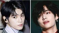 10 nam thần K-pop đẹp nhất khi để tóc đen: V BTS,Minhyuk MONSTA X...