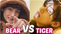 V BTS cố gắng dập tắt tranh cãi trông anh giống gấu hay hổ