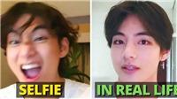 Đẹp như hoàng tử cổ tích nhưng 10 'nam thần' K-pop này phải học 'selfie', đặc biệt là V BTS