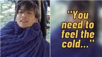 Jungkook BTS chia sẻ thấm thía sau khi ngâm mình trong nước lạnh giá