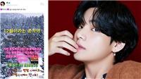 V BTS gửi lời chúc mừng năm mới cực 'cute', muốn đưa fan tới Trạm Hạnh phúc năm 2021