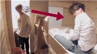BTS: Tiết lộ cuộc sống ký túc xá giúp RM cách đánh thức các chàng trai 'say ngủ'