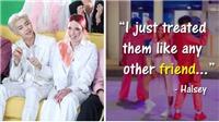 Diva Mỹ Halsey tự hào có nhiều điểm chung với BTS
