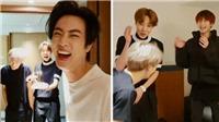 BTS: Các chàng trai mừng sinh nhật Jin với 'quà tặng' hết sức nghịch ngợm