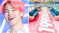 BTS: Bạn sẽ có hành trình kỳ diệu với đoàn tàu mừng sinh nhật Jimin