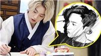BTS: Jungkook lại trổ tài vẽ J-Hope nhân sinh nhật