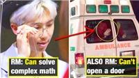 'Chết cười' với sự vụng về không thể tin nổi của RM BTS