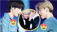 BTS: Fan mềm lòng khi xem những hình ảnh cực tình của V và Jimin
