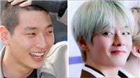 V BTS đã có nghĩa cử này với Jinwoon trước khi thành viên 2AM nhập ngũ